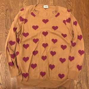 MADEWELL hearts sweater